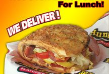 Lunch, It's All Good! / Pizza, Hot Oven Baked Subs, Pasta Wings and Fresh Salad... the only problem with Hungry Howie's for lunch is deciding wht to order!