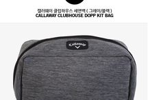 Callaway Genuine Clubhouse wash face pouch Gray Color #Callaway