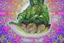 Psychodelic spiritual art