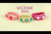 macrame prsten