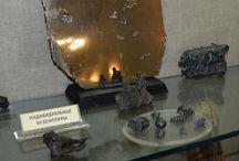 Meteorites / Real meteorites on the video