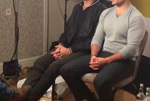 The Man from U.N.C.L.E. Press Junket in London 2015 / Henry Cavill and Armie Hammer   The Man from U.N.C.L.E. Press Junket in London  21.7. 2015