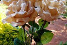 Flores de hojas de maíz