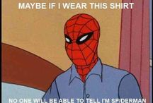 Spiderman / The real spiderman