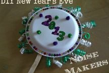 New Years Eve Crafts / Have some fun and do it all yourself !