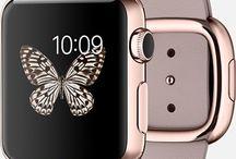 pink gold smartwatch