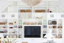 Inbuilt shelves