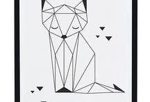 dessin renard