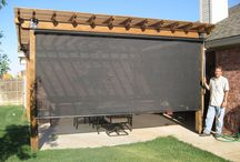 Patio screens