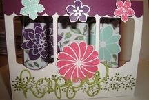 Stampin Up Wows fancy folds & techniques