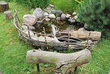 Kleine tuinvijvers (inspiratie)