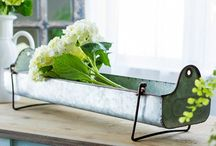 Galvanized Goodies / A collection of galvanized home decor for your home!