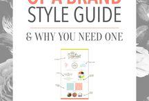 Style-Brand Guide + New Logo Design