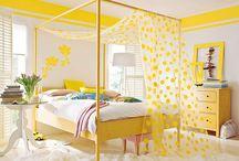 Amarelo: Contribui para a felicidade.