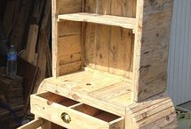 PALLET FURNITURE / Recycled wooden pallet ideas