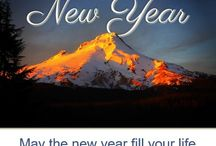 Happy New Year from Mt Hood Vacation Rentals / May the new year fill your life with happiness, good health, prosperity and peace.  From Betsy, Paul, Cari, Fay, Kayla, Debi, Victoria, Jaymee, Liz and Zach