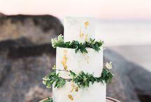 Ślub - tort