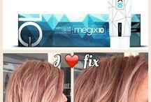 Voor en na foto's Megix / Megix..de 10 min kleuring met ultieme verzorging! Phair..oplichten en inkleuren zonder te blonderen!
