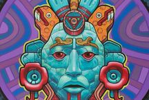 Maia, Asteca, Inca