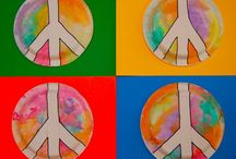 peace and love / by Leigh Ann Baird