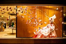 Window Display / VM / Great examples of a Visual Merchandising / by Vivien A