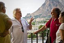 """Presentazione """"Vi cuntu e v'arricuntu"""" di Giovanni Canzoneri / Presentazione a Bagheria, 20 agosto 2013 Palazzo Cutò Le foto sono di Cirex Cirello."""