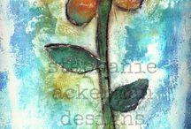 ACKERMAN Art / Creations by Stephanie Ackerman of Homegrown Hospitality / by Becky Arcizo