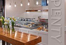 Cafes & bars & restaurants
