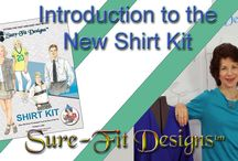 Shirt Sewing & Pattern Making with Sure-Fit Designs