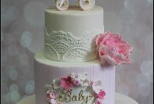 baby christening cakes