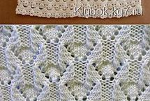 Druty Wzory Knitting Stitches