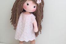 crochet-tricot : poupées