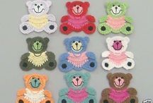 Appliqué : CROCHET / These appliqués have FREE PATTERNS !! Thanks to all the generous people that share!! / by Janet Williams