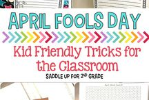April in the Classroom / Activities, lessons, art, projects are more for the month of April.