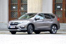 Test Honda CR-V Executive 1.6 i-DTEC / Test Honda CR-V Executive 1.6 i-DTEC