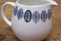 arabia vintage cream & sugar pots & pitchers / arabia vintage cream & sugar pots & pitchers