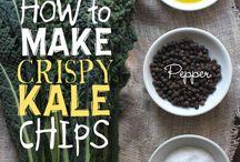 Kale Crispy Chips