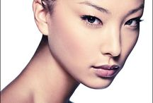 Asian women portraits