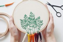 Embroidery / Bunch of ideas, if you're into embroidery. If not - we still have tutorials and 101s for you! #abbiglicom #abbiglidiy #abbiglihome #abbigliart