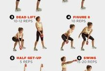 Kettle bell ideas