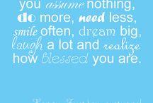 Quotes / Happy Tuesday!