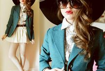 My Style :) / Vintage clothing is a must! I dont follow any fashion trends , they're normally here today and gone tomorrow and you have a ton of stuff you will never wear again. I rather to choose to buy striking pieces that could work in many different looks. Mix it up! I dare you ;)