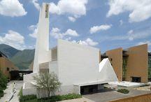 Parroquia en Pueblo Serena / Parish Church Pueblo Serena