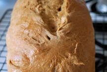 My bread baking.....