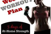 Strength workouts / by Dianne Lebold
