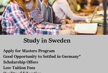 Study in Sweden !!