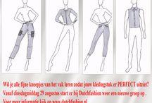Opleidingen ontwerpen van kleding / Vind jij het leuk om eigen patronen van kleding te kunnen tekenen maar weet je niet hoe je dit aan moet pakken?  De organisatie Mode op Maat heeft hiervoor duidelijk en overzichtelijk lesmateriaal.