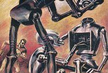 Roboty, maszyny, różności
