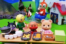 シルバニアの給食セット❤アンパンマン アニメ&おもちゃ