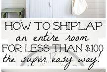 DIY ship lap
